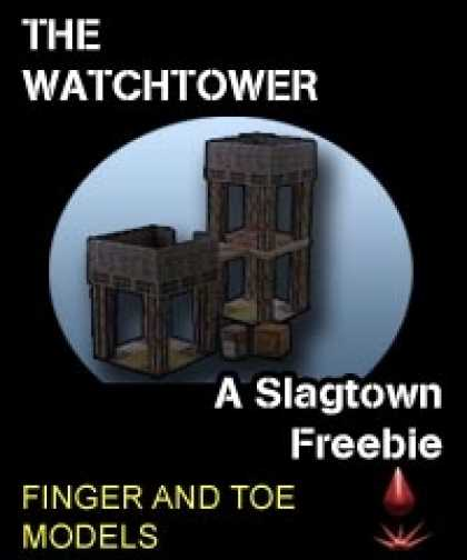 Role Playing Games - Slagtown: Watchtower