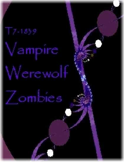 Role Playing Games - T7-1839 Vampire Werewolf Zombies
