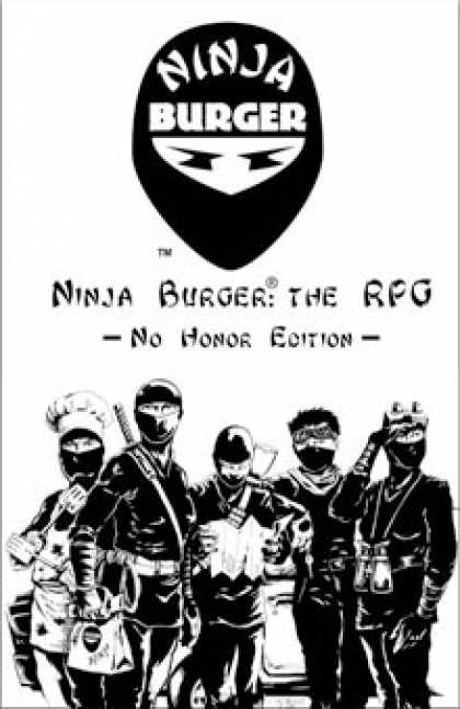 Role Playing Games - Ninja Burger: The RPG No Honor Edition