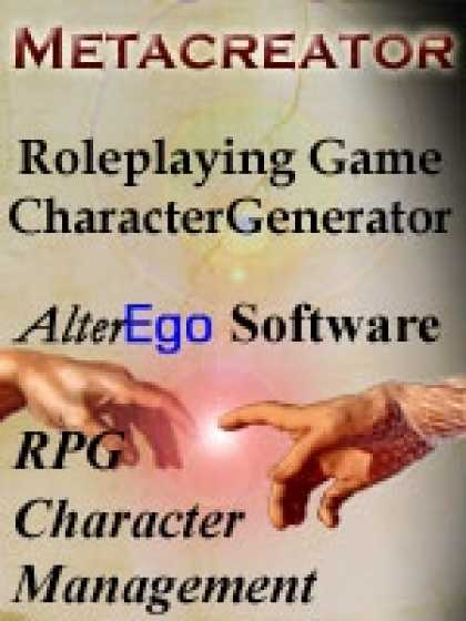 Role Playing Games - Metacreator: RPG Character Generator