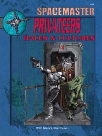 Role Playing Games - Spacemaster Privateers: Races & Cultures PDF