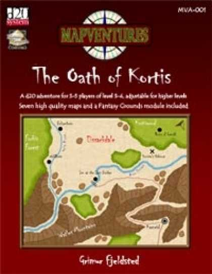 Role Playing Games - The Oath of Kortis Fantasy Grounds Adventure