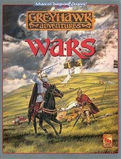 Role Playing Games - Greyhawk Wars
