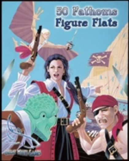 Role Playing Games - 50 Fathoms Figure Flats