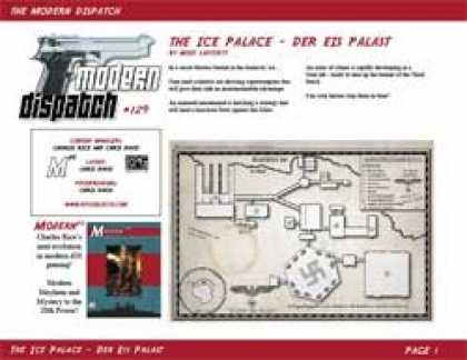 Role Playing Games - Modern Dispatch (#129): The Ice Palace (Der Eis Palast)