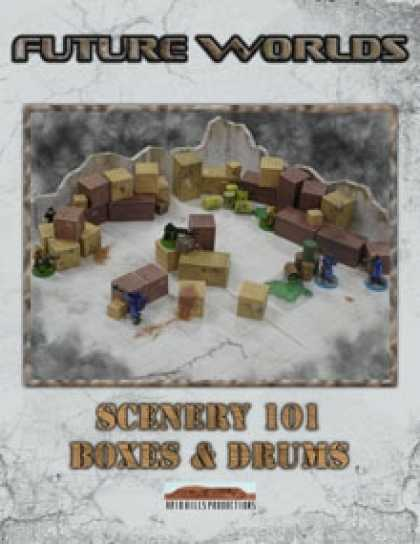 Role Playing Games - Future Worlds: Scenery 101 Boxes & Drums