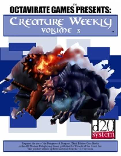 Role Playing Games - Creature Weekly Volume 3