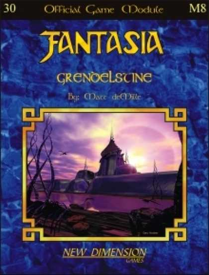 Role Playing Games - Fantasia: Grendelstine--Module M8