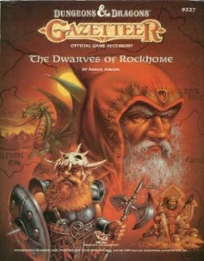 Role Playing Games - GAZ6 -The Dwarves of Rockhome