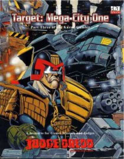 Role Playing Games - Target: Mega-City One