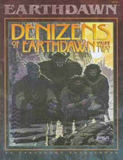 Role Playing Games - Denizens of Earthdawn, Volume II
