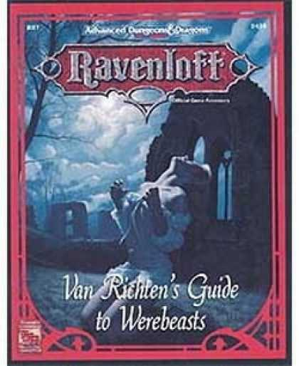 Role Playing Games - Van Richten's Guide to Werebeasts