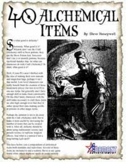 Role Playing Games - 40 Alchemical Items