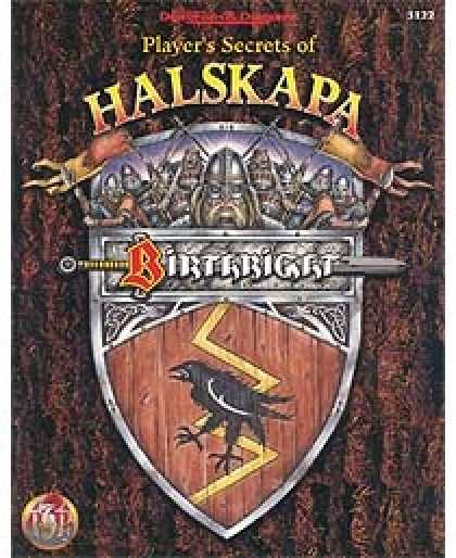Role Playing Games - Player's Secrets of Halskapa