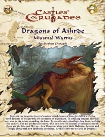 Role Playing Games - C&C Dragons of Aihrde Miasmal Wyrms