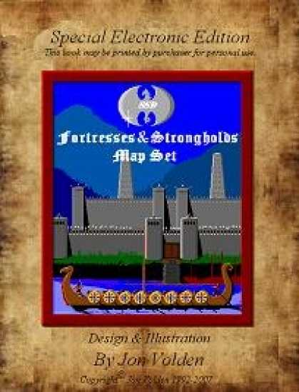 Role Playing Games - 12 Fortresses & Strongholds Map Set