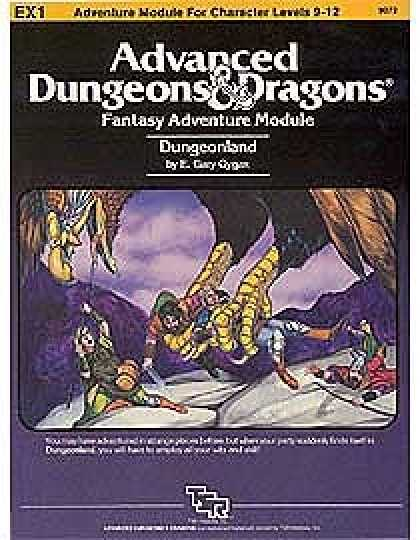 Role Playing Games - EX1 - Dungeonland