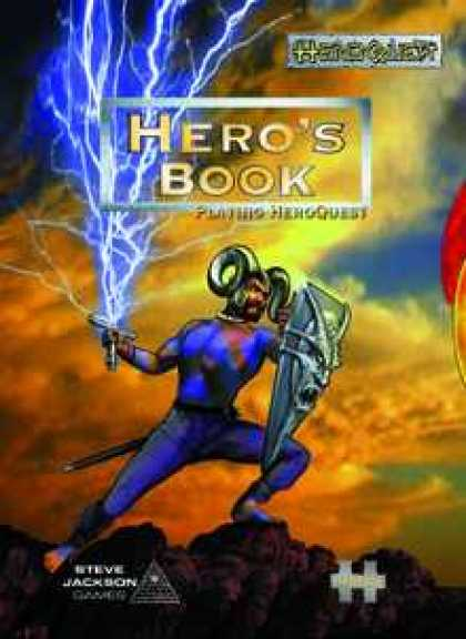Role Playing Games - HeroQuest: Hero's Book