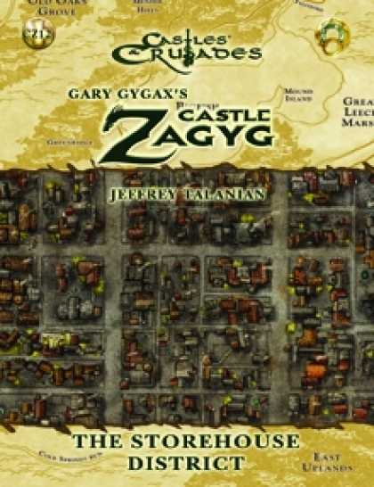 Role Playing Games - Castle Zagyg Yggsburgh Expansion StoreHouse District