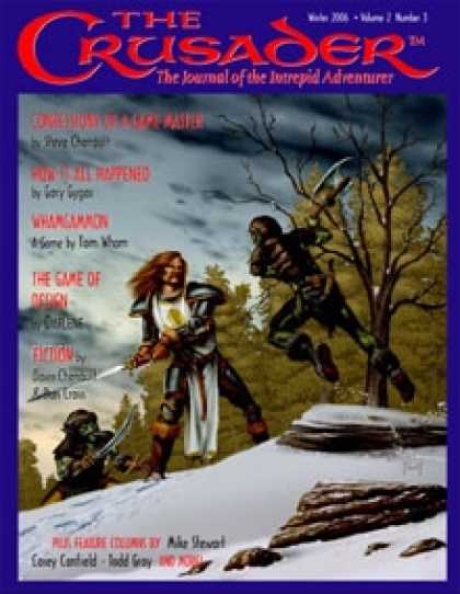 Role Playing Games - Crusader Journal No. 3