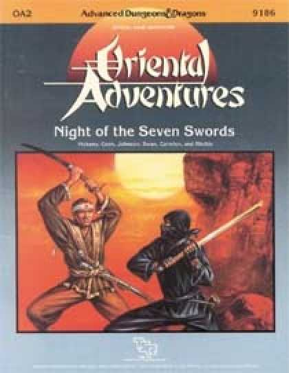 Role Playing Games - Nights of the Seven Swords