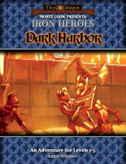 Role Playing Games - Iron Heroes: Dark Harbor