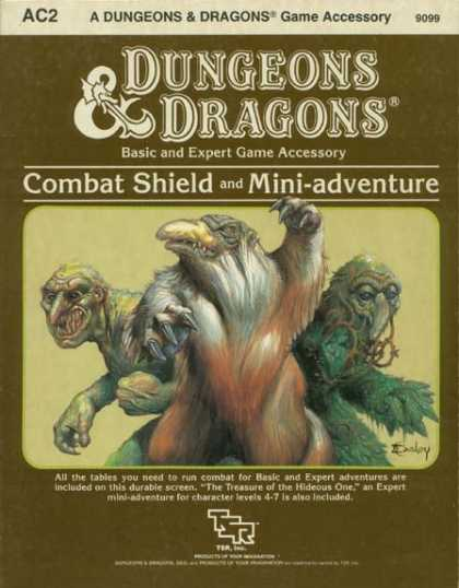 Role Playing Games - Dungeons & Dragons Combat Shield Accessory