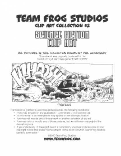 Role Playing Games - Team Frog Studios Clip Art Col. #2: Sci Fi