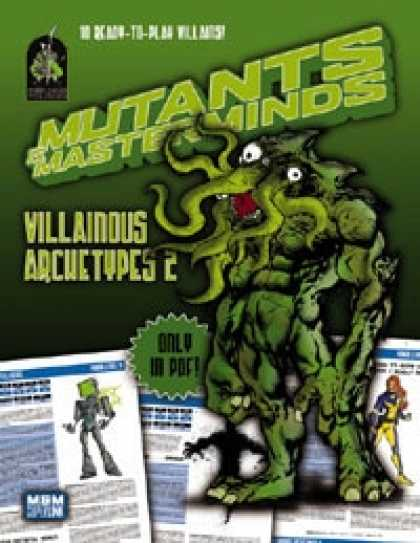 Role Playing Games - Mutants & Masterminds Villainous Archetypes 2