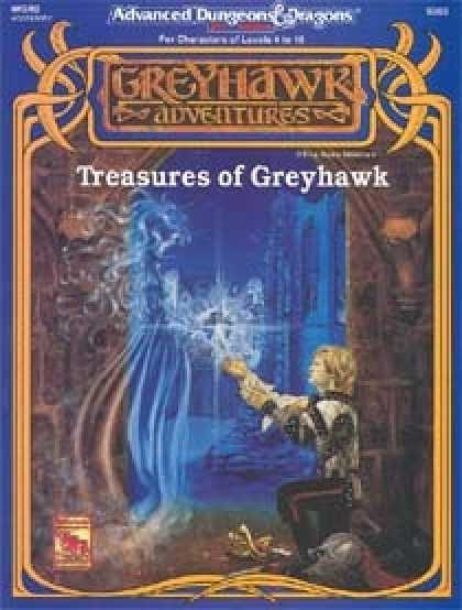 Role Playing Games - Treasures of Greyhawk