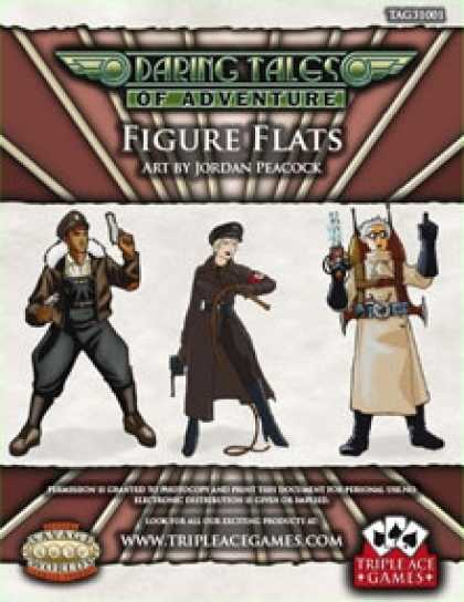 Role Playing Games - Daring Tales of Adventure: Figure Flats