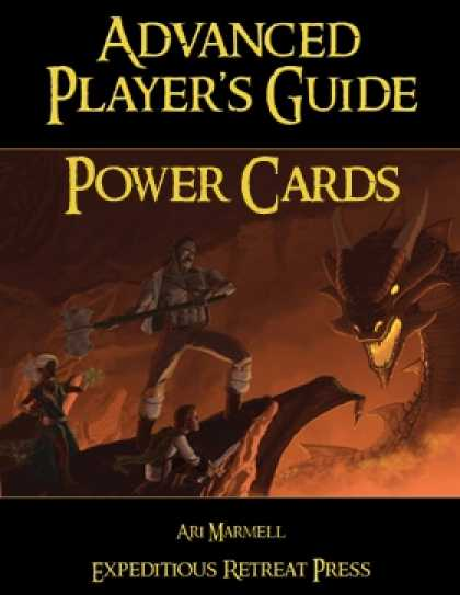 Role Playing Games - Advanced Player's Guide Power Card Pack
