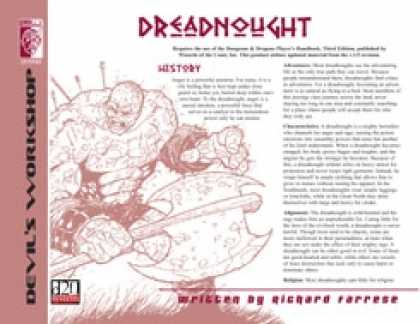 Role Playing Games - Lost Classes: Dreadnought