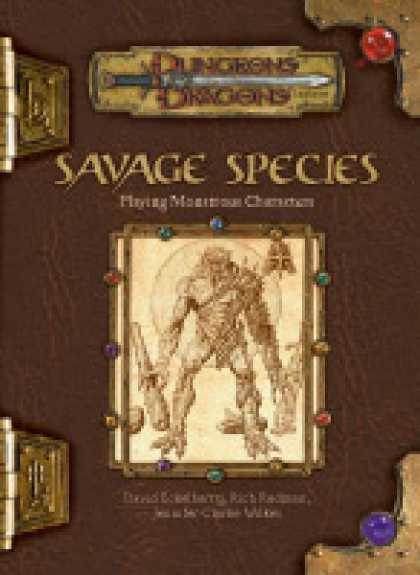 Role Playing Games - Savage Species