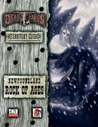 Role Playing Games - Deadlands Territory Guide #01 - Newfoundland
