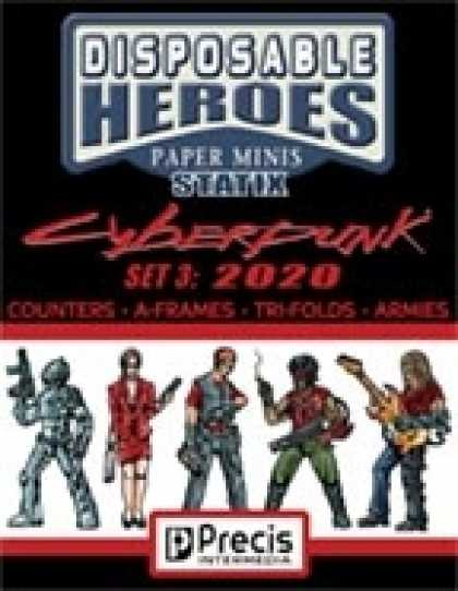 Role Playing Games - Disposable Heroes Cyberpunk Statix 3 (2020)