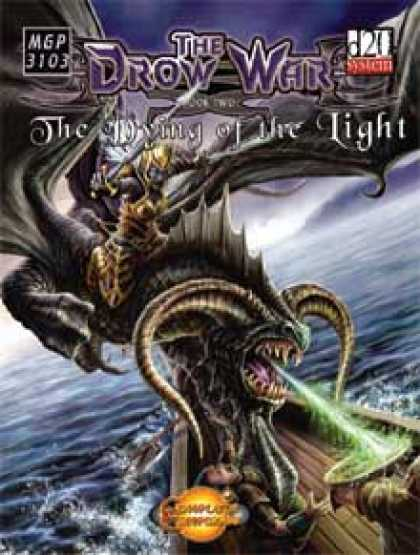 Role Playing Games - The Drow War: Book 2 - The Dying of the Light