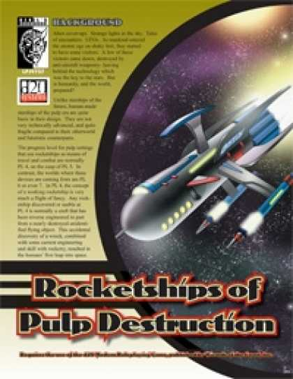 Role Playing Games - Rocketships of Pulp Destruction