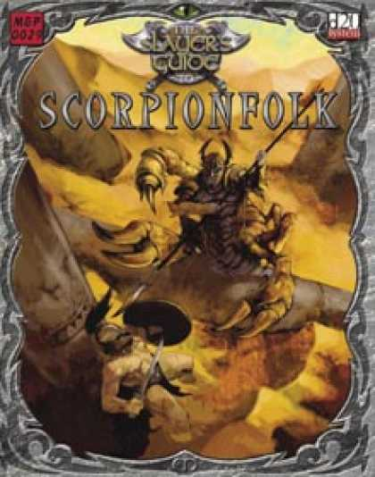 Role Playing Games - Slayer's Guide to Scorpionfolk