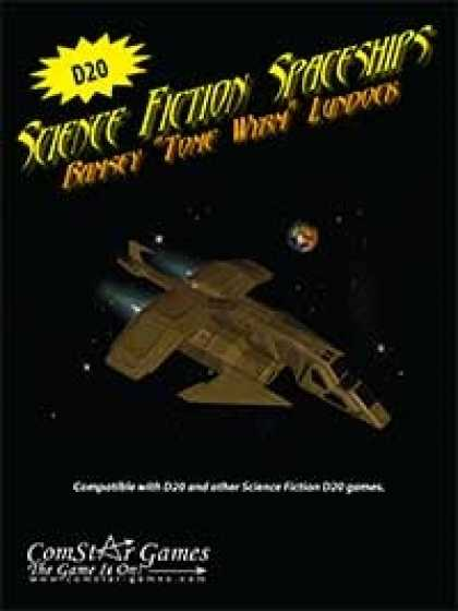 Role Playing Games - Science Fiction Spaceships
