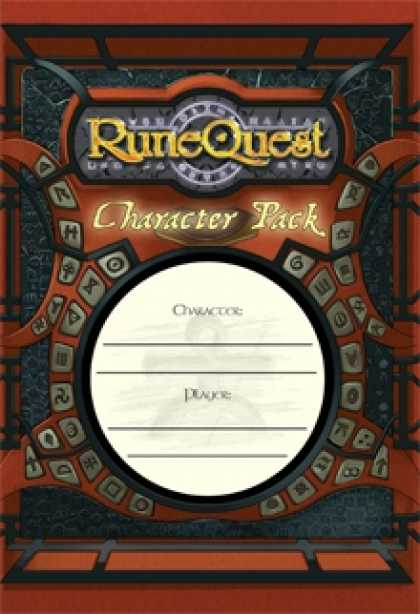 Role Playing Games - RuneQuest Character Pack