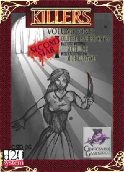 Role Playing Games - Killers, Volume One: Second Stab!