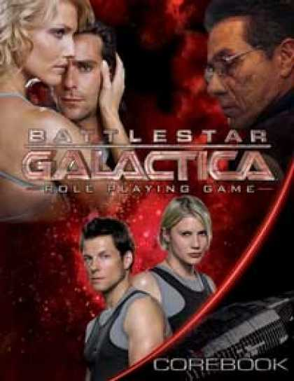 Role Playing Games - Battlestar Galactica Role Playing Game
