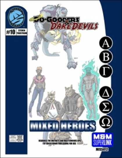 Role Playing Games - Do-Gooders & Daredevils: Mixed Heroes