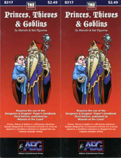Role Playing Games - Princes, Thieves & Goblins