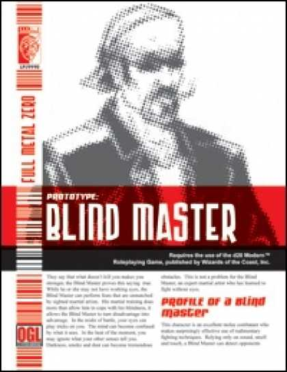 Role Playing Games - Prototype: Blind Master