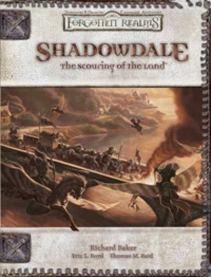 Role Playing Games - Shadowdale: The Scouring of the Land