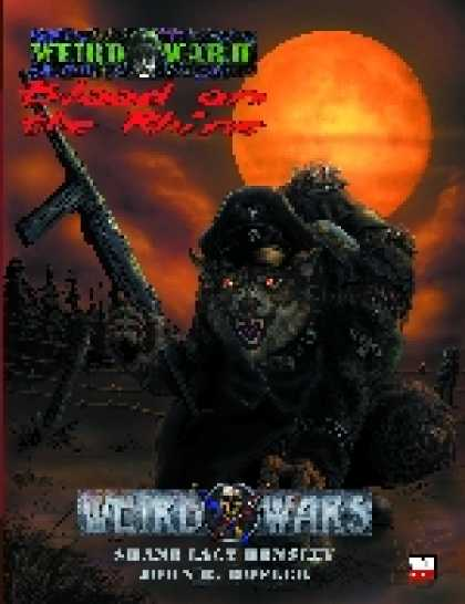 Role Playing Games - PEG13001 Weird Wars: Blood on the Rhine