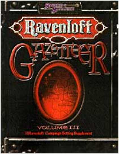 Role Playing Games - Ravenloft Gazetteer III