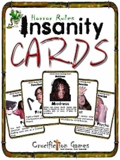 Role Playing Games - Insanity Cards
